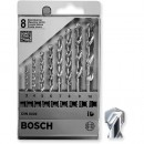 Bosch Impact Masonry Drill Bit Set - (8 Piece, 3mm - 10mm)