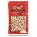 Miller Standard Dowels 1X - Birch (Pkt 100)