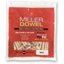 Miller Mini Dowels - Walnut (Pkt 100)