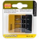 Proxxon 3 Piece Tungsten Milling Cutter Set
