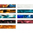 Pack of 9 Mixed Acrylic Pen Blanks