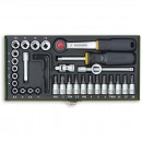 "Proxxon 36 Piece Precision Engineer's Socket Set (1/4"")"