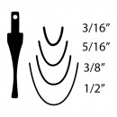 "Flexcut SK925 Thumbnail Gouge - 5/16""(8mm)"
