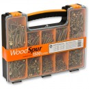 WoodSpur Pozidrive Wood Screw Pack