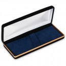 Black Velvet Double Pen Case
