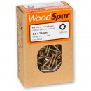 WoodSpur Torx Self Countersinking Screws T20, 4.5 x 25mm(Qty 200)
