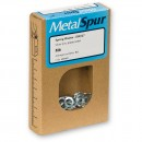 MetalSpur Spring Washers, M8 (Qty 50)