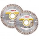 Bosch 115mm Diamond Disc Twinpack