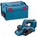 Bosch GHO 18 V-LI Cordless Planer in L-Boxx 18V (Body Only)