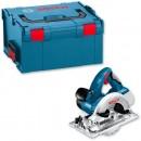 Bosch GKS 18 V-LI Cordless Circular Saw Li-Ion & L-Boxx 18V (Body Only)