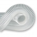 Axminster Clear Reinforced PVC Hose 102mm x 2.5m