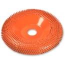 "Saburr Tooth Carbide Round Face Disc 4"" (100mm)ø X Coarse"
