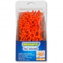 Broadfix Tile Spacers 5mm (75 Pack)