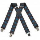 Nautical Stars Blue Braces
