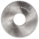 "Axminster HSS Slitting Saw - 3"" x 1/32"" x 1"" T74"