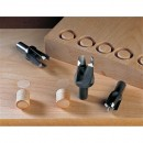 Veritas 3 Piece Imperial Tapered Snug Plug Cutter Set