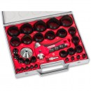 BOEHM Hollow Punch Set 2 to 50mm - 29 piece