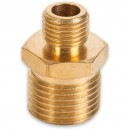 "Axminster Airline Fitting Reducer 1/2"" BSPT Male, 1/4"" BSPT Male (4)"