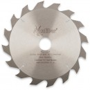 Axcaliber Contract TCT Saw Blade Rip - 200mm x 2.2mm x 30mm T16
