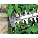 Blade tip protector for easy cutting along walls and along the ground