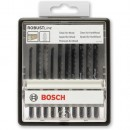 Bosch ROBUSTLine 10 Piece Wood Jigsaw Blade Set