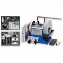 Tormek T-4 Sharpening System, HTK-706 Hand Tool & TNT-708 Woodturner's Kits