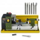 Proxxon FD150E Lathe, Splash Guard & 6 Pce Cutting Set - PACKAGE DEAL