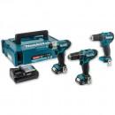 Makita CLX202AJ Combi & Impact Kit + Drill Driver