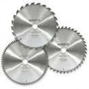 Pack of 3 Axcaliber 200mm TCT Saw Blades