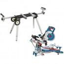 Bosch GCM 8 SDE 216mm DBL Bevel Mitre Saw & Stand
