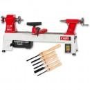 Axminster Craft AC240WL Woodturning Lathe & Turning Tool Set Package