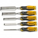 Stanley Dynagrip Pro Bevel Edge Chisel - Set of 5 (6,12,18,25,32mm)