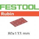 Festool Rubin 80 x 133mm Sanding Discs - 120 Grit (50)