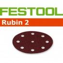 Festool Rubin 125mm Sanding Discs - 80 Grit (Pkt 10)