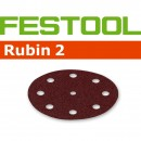 Festool Rubin 2 Abrasive Discs 125mm (Pkt 10)