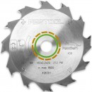 Festool 160mm TCT Saw Blade - 12T