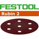 Festool 120 Grit 90mm Sanding Disc Rubin (pkt 50)