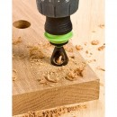 The countersink in use
