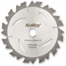 Axcaliber Contract TCT Saw Blade - 165mm x 1.5mm x 20mm T12