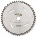 Axcaliber Contract TCT Saw Blade - 165mm x 1.5mm x 20mm T52