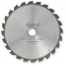 Axcaliber Contract TCT Saw Blade Thin Kerf 250mm x 2.1mm x 30mm 24T