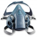 3M 7502 Half Mask - Medium (Light Blue)