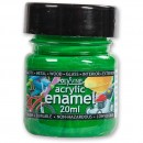 Polyvine Acrylic Enamel Paint - Emerald 20ml