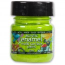 Polyvine Acrylic Enamel Paint - Lime 20ml