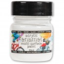 Polyvine Acrylic Enamel Paint - Matt White 20ml