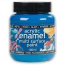 Polyvine Acrylic Enamel Paint - Sea Blue 20ml