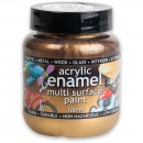 Polyvine Acrylic Enamel Paint - Metallic Gold 100ml