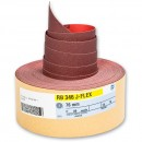 Hermes RB 346 J Flex 25m x 75mm Abrasive Roll 120 Grit