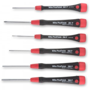 Wiha 6 Piece Precision Electronic Screwdriver Set