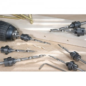 Axminster 7 Piece Tapered Drill Bit Set